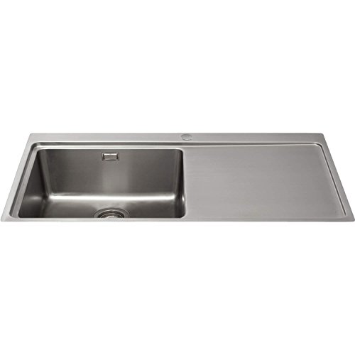 cda-kvf21rss-designer-single-extra-large-bowl-sink-flush-fit-right-hand-drainer