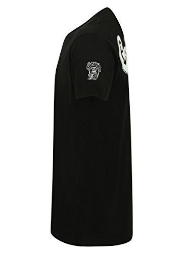 Gas Monkey Garage T-Shirt Large Side Monkey Black Black
