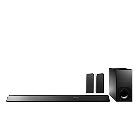 Sony HT-RT5 - sound bar system - for home theatre - wireless
