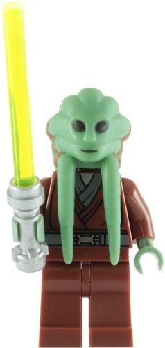 LEGO Star Wars: Kit Fisto Minifiguren Mit Grün Lichtschwert