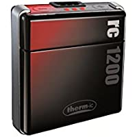 Therm-ic Warme Füße Smartpack rc 1200 EU und US, black/silver, T01-0110-009