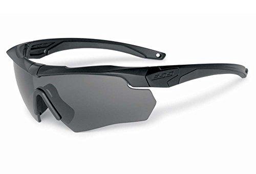 ESS Sonnenbrille Armbrust surpressor One schwarz mit Smoke Gray Objektiv