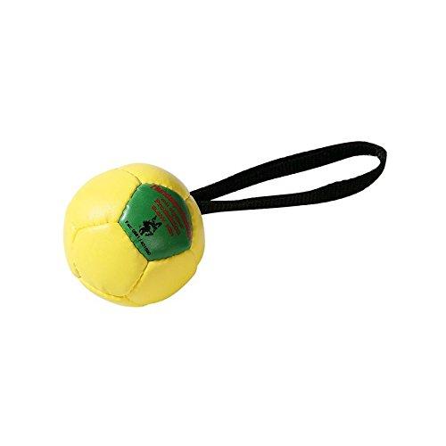 K-Lin Grobys Trainingsball mit Schlaufe Ø 90 mm ausgestopfter Vollball schwimmfähig