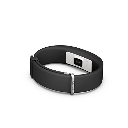 Sony SmartBand 2 Activity Running Exercise Tracker Pulse Heart Rate Monitor Wrist Smartband Compatible with iOS and Android Devices – Black
