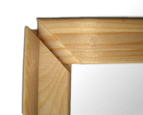 Keilrahmenleisten Set zum Selbstbau DIY Keilrahmen 55 x 20 cm / 20 x 55 cm