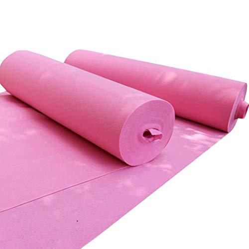 Llhy ditan tappeti e tappeti one-time wedding pink white event celebration nonwovens spessore 2mm, 4 larghezze, lunghezza 10m / 20m cc (dimensioni : 1.2 * 10m)