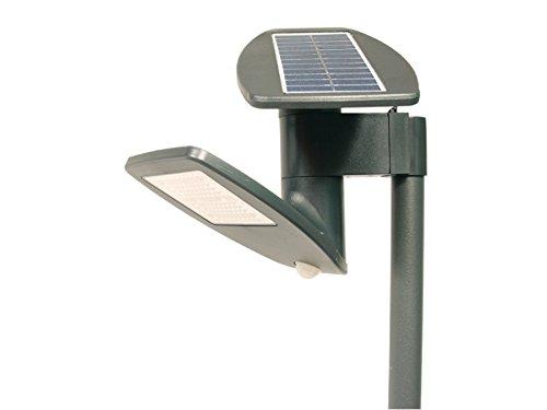 Bluegreen–GreenBlue gb922–Solarleuchte für Garten Bewegungsmelder Wegeleuchte aus Edelstahl 90cm