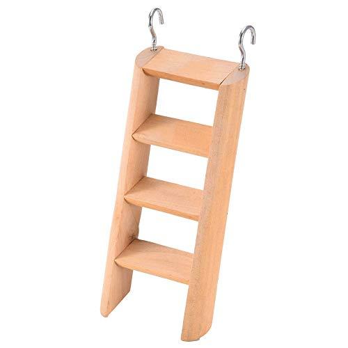Domire Kleintiere Leiter aus Holz Haustier Klettern Biting Spielzeug Hamster Spielen und Trainieren Leiterholms Treppen Spielzeug - Spielzeug Hamster Klettern