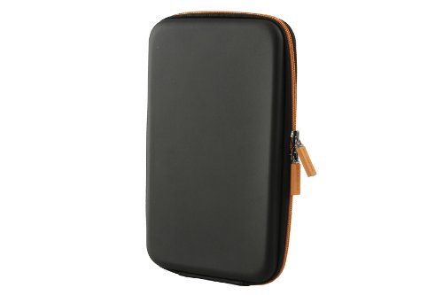 Cover Nook Buch (Moleskine Travelling Collection / Hülle / eReader-Cover / Kindle2, Kindle3, Nook Colour, Samsung Galaxy P1000, Blackberry Playbook / Schwarz)