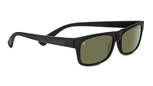 Serengeti Eyewear Sonnenbrille Rapallo, Satinack/Polarized, 8365