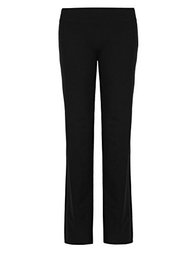 Ladies Cotton Rich Straight Leg Joggers (10, M)