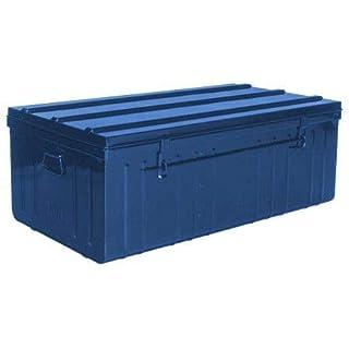 Pierre Henry Malle de Rangement en métal Bleu 225 litres