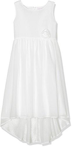 Happy Girls Mädchen Kleid Scarlette, Einfarbig, Gr. 116, Beige (Ecru 11)