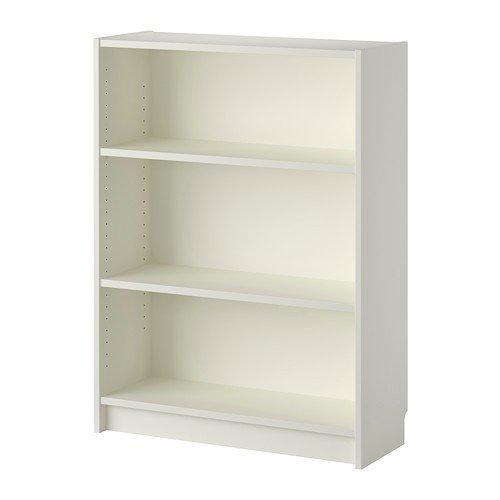 IKEA BILLY Bücherregal in weiß; (80x28x106cm) Hohe Bücherregal