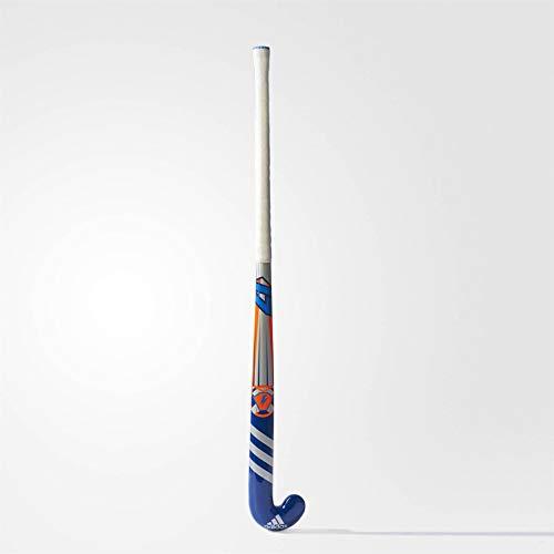 Adidas K24Junior Holz Hockeyschläger (2016/2017), Herren, blau, 71,2 cm (28 zoll) (Holz Hockey Stick Junior)