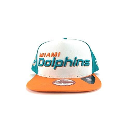New Era NFL MIAMI DOLPHINS Fresh Script A-FRAME Snapback Cap (M/L) NEU/OVP