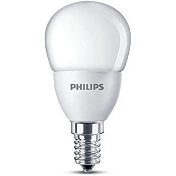 philips e14 ses p48 lustre led bulb 2 7 w 25 w equivalent warm white frosted. Black Bedroom Furniture Sets. Home Design Ideas