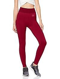 Marque Amazon - AURIQUE Legging de Sport sans Coutures Taille Haute Femme