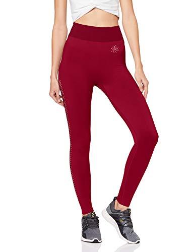 AURIQUE - Leggings - mujer rojo Rojo Red 10 Manufacturer