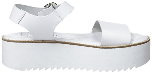 COOLWAY Duby, Sandali con Plateau Donna Bianco (Wht)