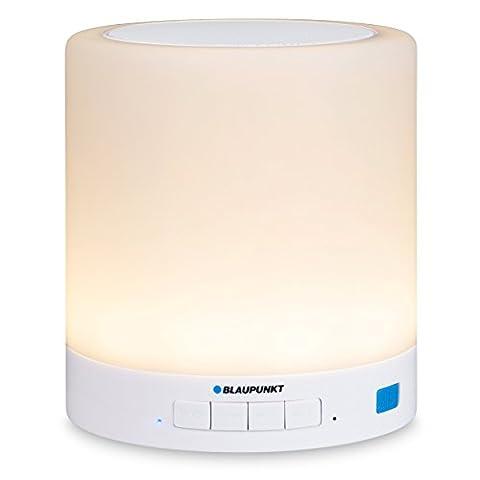 Blaupunkt BTL 100Haut-parleur Bluetooth avec lumière LED Ambiente pour streaming de TV/PC/téléphone sans fil
