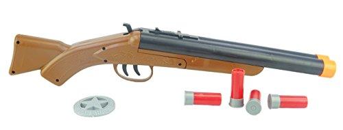 Toyland® 47cm Fusil Double Baril avec Effets Sonores et Éjection de Coquilles