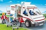 PLAYMOBIL 9535 Drk Rettungswagen Deutsches Rotes Kreuz .