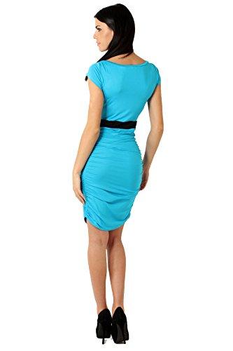 AE -  Vestito  - Senza maniche  - Donna Azzurro blu