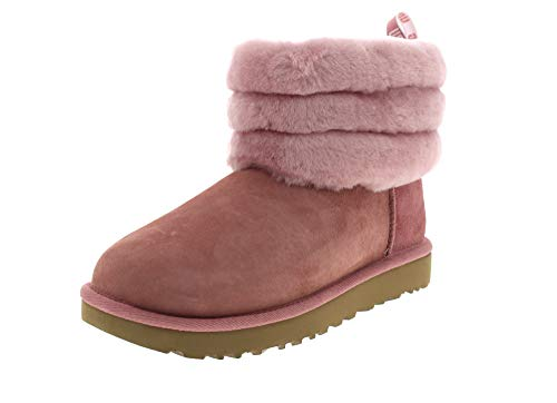 UGG - Stivali Fluff Mini Quilted - Pink Dawn, Taglia:37 EU