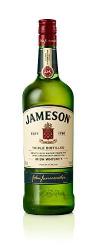 Jameson Irish Whiskey - Blended Irish Whiskey aus feinen, dreifach destillierten Pot Still und Grain Whiskeys - Milder und zeitloser Whiskey aus Irland - 1 x 1 L