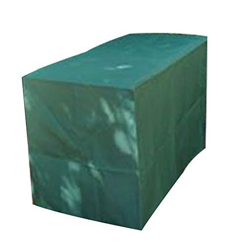 GDMING-Gartenmöbel Abdeckung abdeckplane Würfel Tischdecke, Wasserdicht Stuhl Mit Hoher Rückenlehne Sofa Bank Terrasse Verschleißfest Dauerhaft Oxford Tuch, 25 Größen -