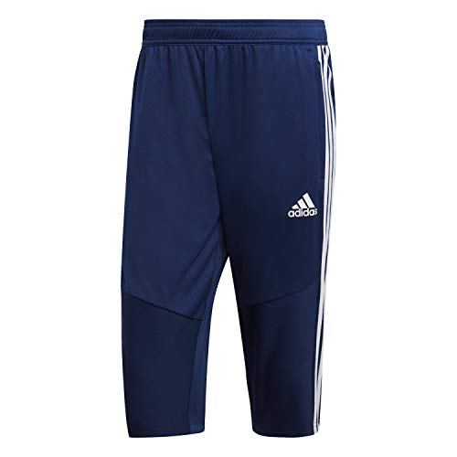 Adidas TIRO19 3/4 PNT Pantalon Homme, Dark Blue/White, FR : M (Taille Fabricant : M)