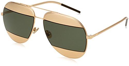Christian Dior Damen Sonnenbrille Diorsplit1 85, Rosa(Rose Gold), 59