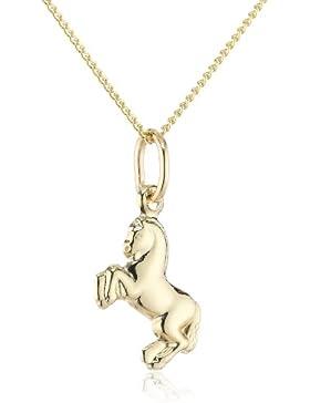 ZEEme For Kids - Kinderanhgner mit Kette 333/- Gelbgold 36-38cm Pferd 500341055-38Z
