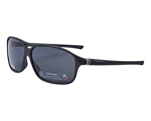 TAG Heuer Sonnenbrillen (TH-6044 101) matt schwarz - grau