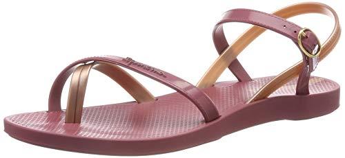 Ipanema Fashion Sand VII Fem, Sandali con Cinturino alla Caviglia Donna, (Red/Rose 9144), 37 EU