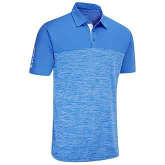 Feuchtigkeit Wicking Golf Polo (Stuburt Evolve Obley Feuchtigkeit Wicking Golf-Polo-Hemd - Imperial Blau - M)