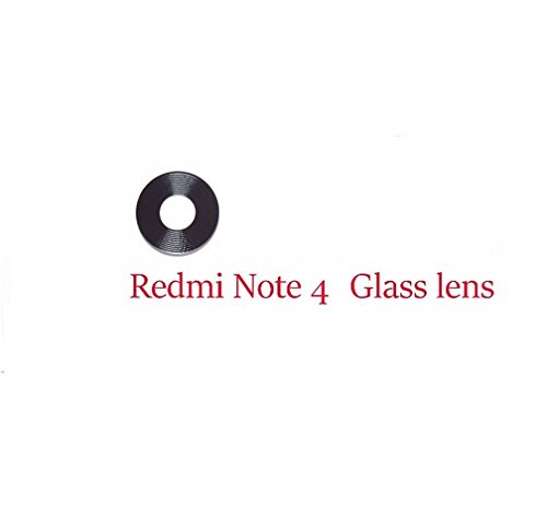 Shockware Camera Lens Glass Back/Rear With Adhesive Sticker Replacement Part Compatible With Xiaomi Redmi Note 4