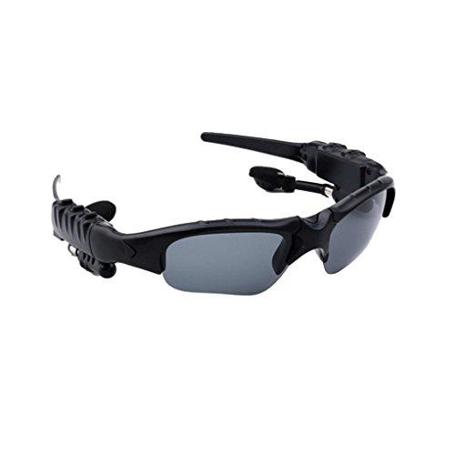 Busirde Smart-Stereo Bluetooth 4.1 Brille Headset Kopfhörer Drahtlose Bluetooth Sport Sonnenbrille Kopfhörer Brillen 1# 166 * 40mm