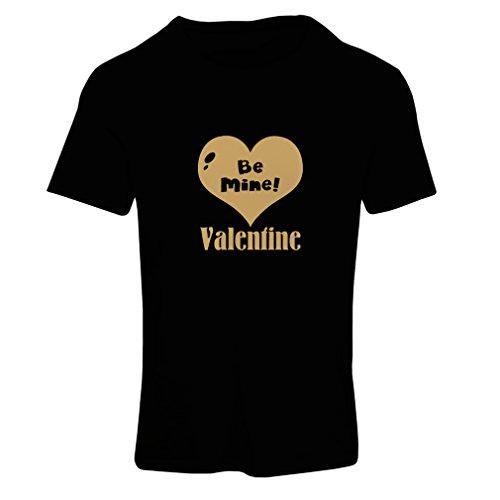 ... Valentinstag Geschenke Schwarz Gold. Frauen T-Shirt