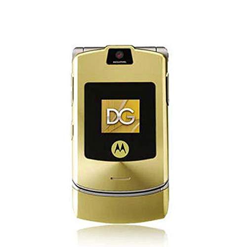 Refurbished Handys (Comomingo Classic Flip Handy Refurbished Machine für Motorola V3)