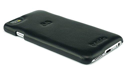 """trooble echt-leder luxus Backcase für das iPhone 6-6s Hülle - Tasche - Case - Cover für Apple iPhone 6 4.7"""" Zoll und iPhone 6s - echt-leder - Rückschale- schwarz"""
