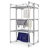 Dry:Soon Deluxe 3-Tier Heated Airer (Under 6p / Hour!)