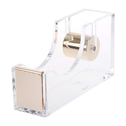 Zrshygs Tape Dispenser Refills Luxury Clear Acrylic