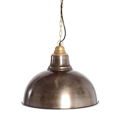 Emporio Arts style industriel Rétro Pendentif lumière avec abat-jour noir, fer, E27, 40 Watts