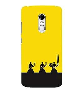 EPICCASE WTF Attitude Mobile Back Case Cover For Lenovo Vibe X3 (Designer Case)