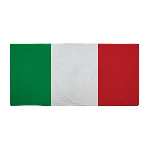 CafePress Italienische Flagge Beach Handtuch-Standard weiß -
