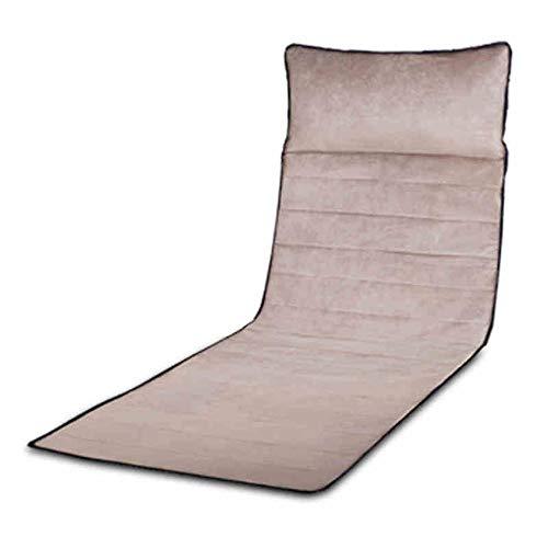 HAIZHEN Massage équipement Tapis de massage avec 9 têtes de massage Coussin chauffant Coussin de massage complet du corps pour soulager la douleur dans le dos des jambes lombaires Convient pour di