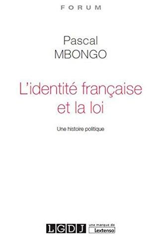 L'Identité française et la loi