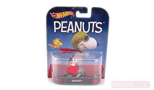 NEW Hot Wheels HWDMC55DWJ89 Peanuts Snoopy 1:64 MODELLINO Die Cast Model
